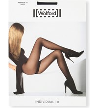 Wolford Individual 10 Nylon Blend Tights Admiral