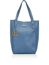 Just Cavalli Women's Leather Tote Blue