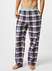 Topman Grey Flannel Pyjama Bottoms Multi