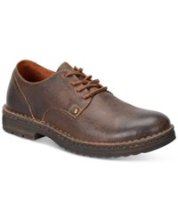 Born Men's Samson Plain Toe Oxfords Men's Shoes Dark Brown