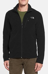 The North Face Men's 'Texture Cap Rock' Fleece Jacket Tnf Black