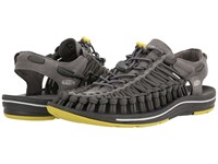 Keen Uneek Flat Gargoyle Magnet Men's Shoes Gray