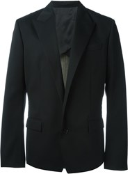 Juun.J Single Button Blazer Black