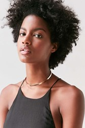 Urban Outfitters Harlow Pendant Collar Necklace Gold
