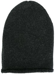 Kristensen Du Nord Knitted Long Beanie Grey