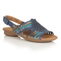 Naturalizer Wendy Strappy Sandals Blue