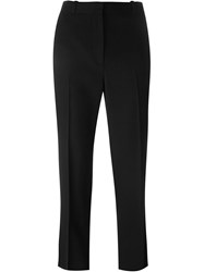 Givenchy Cropped Tuxedo Trousers Black
