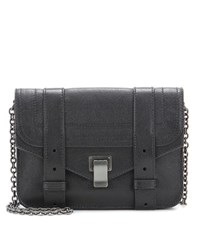 Proenza Schouler Ps1 Chain Leather Clutch Black