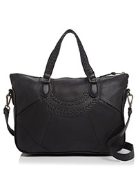 Liebeskind Vintage Leather Esther B Satchel Black