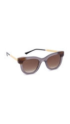 Thierry Lasry Sexxxy Sunglasses Grey Brown Gradient