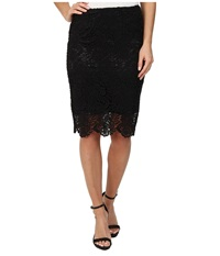 Lucky Brand Black Lace Skirt Lucky Black Women's Skirt Multi