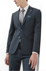 Ted Baker Men's London 'Debonair' Trim Fit Solid Wool Sport Coat