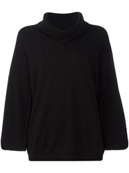 Fay Loose Fit Jumper Black