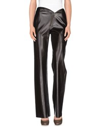 Nude Trousers Casual Trousers Women Dark Brown