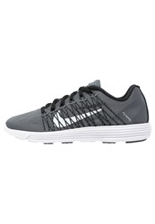 Nike Performance Lunarracer 3 Lightweight Running Shoes Dark Grey White Black Dark Gray