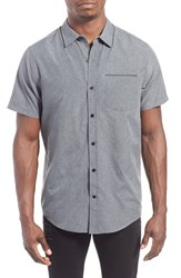 Men's Hurley 'One And Only' Short Sleeve Dri Fit Woven Shirt