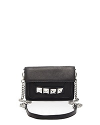 Linea Pelle Crossbody Grayson Bar Black
