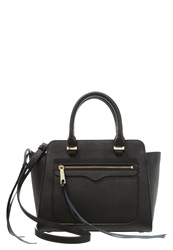 Rebecca Minkoff Avery Handbag Black Light Gold