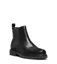 Michael Kors Hudson Leather Boot Black