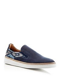 Robert Graham Hanover Slip On Sneakers Navy Nb