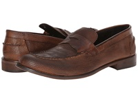 Kenneth Cole Collection Home Perf Brown Men's Slip On Shoes