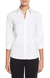 Women's Ming Wang Stretch Poplin Shirt