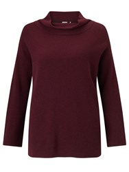 Marella Aeroso Wool Blend Jumper Bordeaux