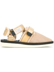 Suicoke Closed Toe Sandals Nude And Neutrals