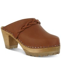 Mia Elsa Wooden Clogs Women's Shoes Luggage