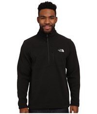 The North Face Gordon Lyons 1 4 Zip Pullover Tnf Black Heather Men's Long Sleeve Pullover Gray