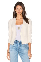 Rebecca Taylor Suiting Jacket Cream
