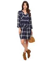 Only Nema Short Woven Dress Night Sky Women's Dress Blue