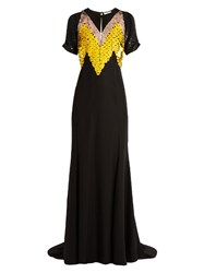Altuzarra Loretta Sequin Embellished Silk Gown Black