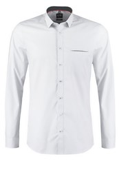 Olymp Level 5 Body Fit Formal Shirt Silbergrau Light Grey