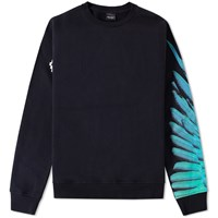 Marcelo Burlon Lonquimay Crew Sweat Black