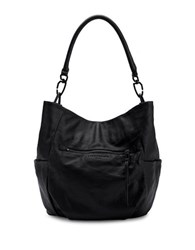 Liebeskind Jeany E Leather Hobo Bag Black