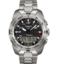 Tissot T013.420.44.202.00 T Touch Titanium Chronograph Watch