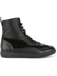 Alexander Wang 'Eden' Hi Top Sneakers Black