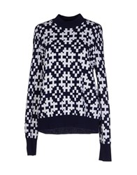 Equipment Femme Sweaters Dark Blue