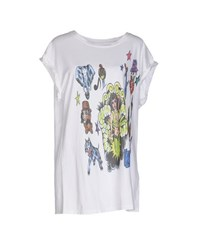 Gorgeous Topwear T Shirts Women White
