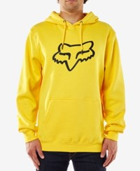 Fox Legacy Fleece Hoodie Yellow