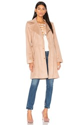 Unreal Fur Magic Trench Coat Beige