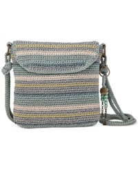 The Sak Kearny Crochet Crossbody Canyon Stripe