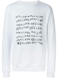 Soulland 'Power' Sweatshirt White
