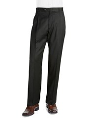 Palm Beach Cory Pleated Suit Pant Charcoal