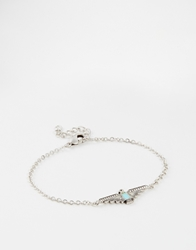 Asos Limited Edition Bracelet With Aztec Bird Multi