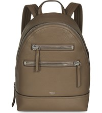 Mulberry Grained Leather Backpack Clay