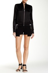 L.A.M.B. Sculpted Crepe Short Black