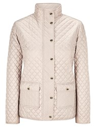 Viyella Quilted Riding Jacket Champagne