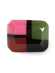Marni Rectangular Ring Multicolour